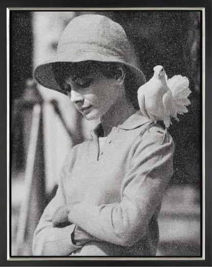 Image of Hepburn with Dove