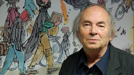 Image of Sir Quentin Blake and Roald Dahl