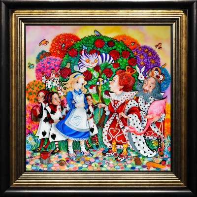 Alice in The Rose Garden image