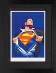 Superman Forever  – Paper Framed image