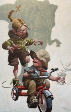 Keep Absolutely Still, Her Suspicion is Based on Movement | Craig Davison image