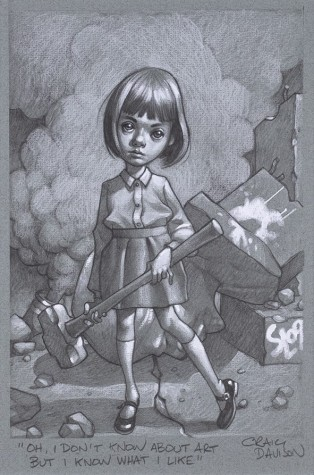 """Oh, I Don't Know About Art, But I Know What I Like"" Sketch 