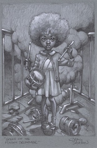 """Sound Of The Funky Drummer"" Sketch 