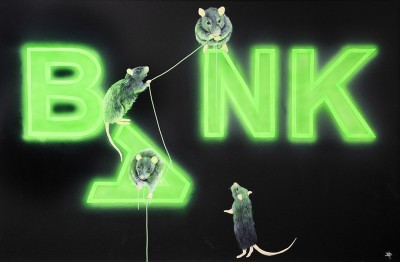 Rats Fixing The Bank | Dean Martin image