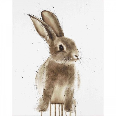 Rabbit In A Snowstorm | David Rees image