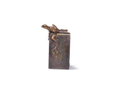 Vertical Frogman Paperweight image