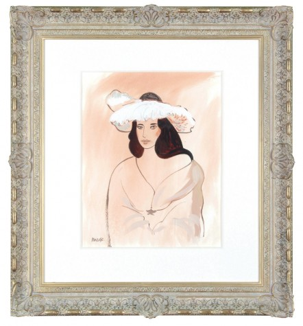 Girl In Feathered Hat (Henri Matisse) - John Myatt image