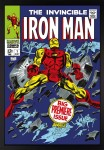 The Invincible Iron Man #1 Big Premiere Issue Canvas image