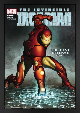 The Invincible Iron Man #421 - The Best Defence - Canvas Edition image