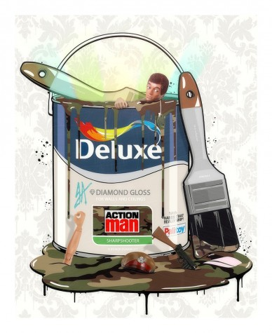 Deluxe Paint Can - Action Man image
