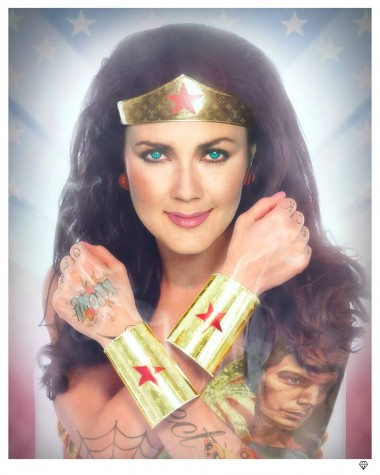 Wonder Woman Colour image