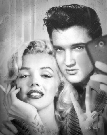 Elvis & Marilyn Photobooth | JJ Adams image