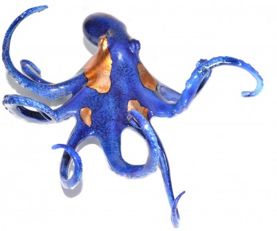 Large Blue Octopus | Brian Arthur image
