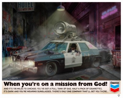 """When You're on a Mission from God"" Blues Brothers image"