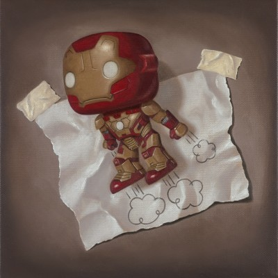 Skyward | Nigel Humphries Iron Man artwork image