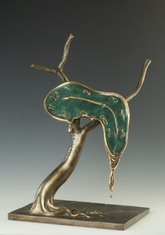 The Profile of Time | Salvador Dali sculpture image