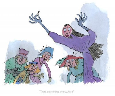 There Are Witches Everywhere | Sir Quentin Blake image