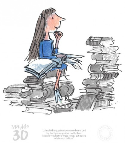 The Child in Question is Extra-ordinary - Matilda | Roald Dahl image