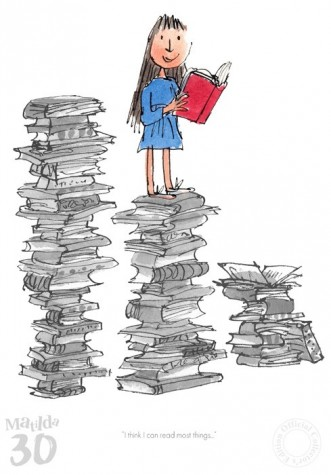 Matilda 30th I Think I Can Read Most Things | Roald Dahl image