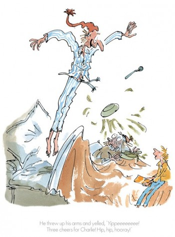 Three Cheers For Charlie | Roald Dahl and Sir Quentin Blake image