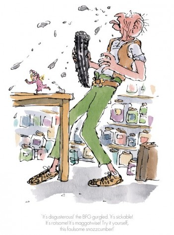 """It's disgusterous!"" The BFG Gurgled 