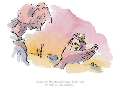 Dreams is Full Of Mystery and Magic | Quentin Blake & Roald Dahl image