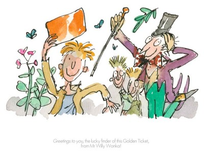 Greetings to You | Sir Quentin Blake & Roald Dahl image