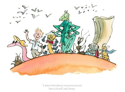 It seems that everyone around here is loved | Quentin Blake image
