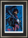 Hendrix By Ronnie Wood Framed image