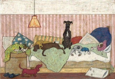 Bid Dog Bed | Sam Toft image
