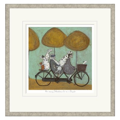 How Many Dalmatians Fit on a Bicycle? | Sam Toft image
