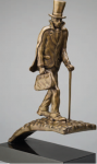 Stranger Comes To Town Solid Bronze Sculpture image