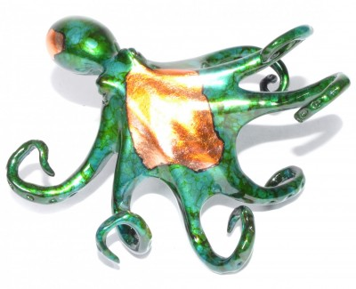 Small Octopus Green | Brian Arthur image