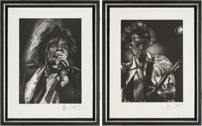 Study for Mick & Keith image