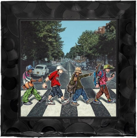 A B-boy Road – Canvas image
