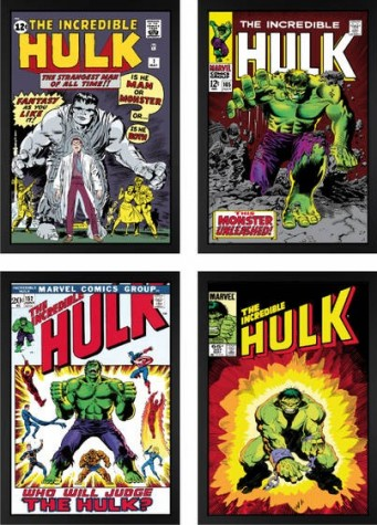 The Incredible Hulk Portfolio (Boxed Canvas) image