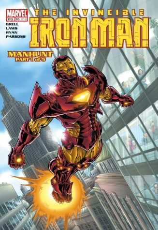 The Invincible Iron Man #65 Manhunt 2017 image