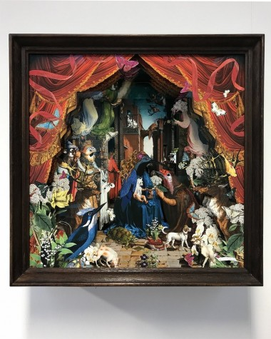 The Red Velvet Hound Gossaert Diorama image
