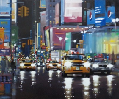 Times Square Traffic | Neil Dawson Original image