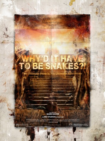Why'd It Have To Be Snakes?! (Indiana Jones) Billboard Edition | Mark Davies image