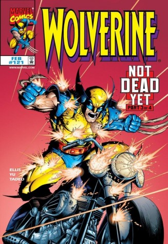 Wolverine #12 Not Dead Yet 2017 image