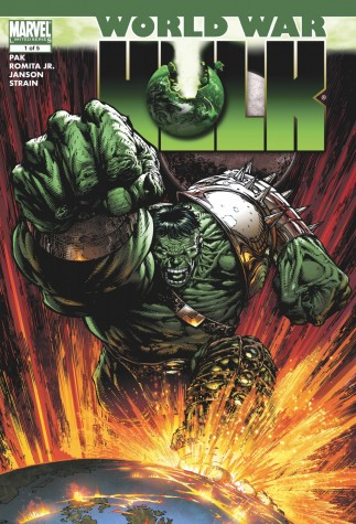 World War Hulk #1, Signed by Stan Lee image