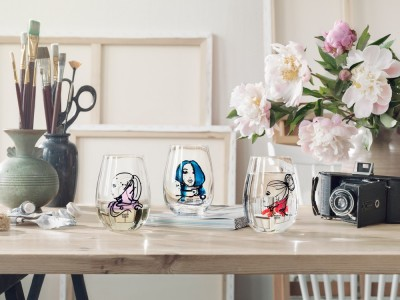 All About You Glassware image