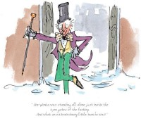 An extraordinary little man he was | Quentin Blake & Roald Dahl image