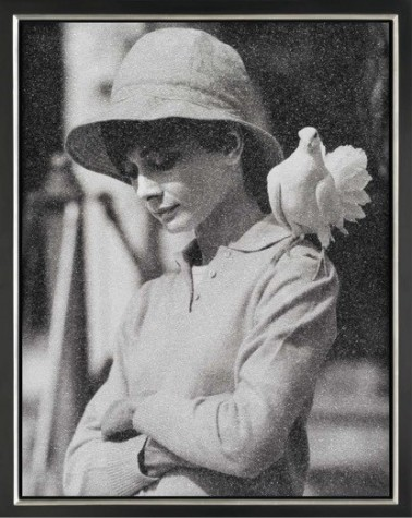 Hepburn with Dove image