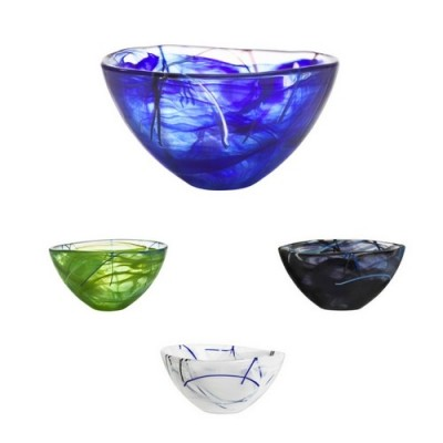 Large Contrast Bowl Various Colours | Anna Ehrner image