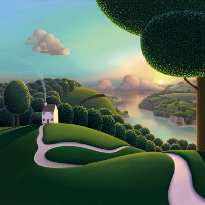 High Above The Estuary | Paul Corfield (PREORDER) image