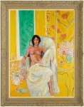 Yellow Odalisque (in the style of Henri Matisse) image