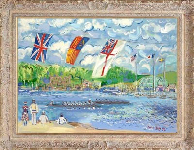 Regatta On The Thames | John Myatt image