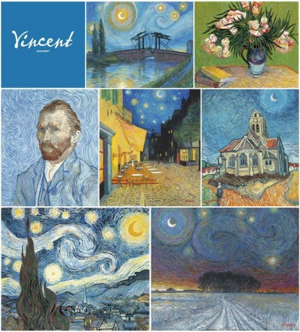 The Vincent Van Gogh Collection of 7 matching edition numbers image